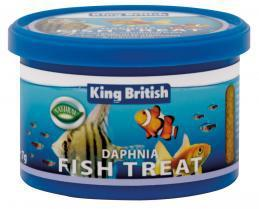 King British Dapnia Fish Treats