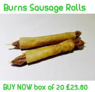 Burns Sausage Rolls
