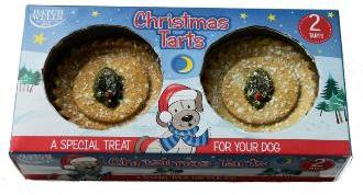 Hatchwell Xmas Tarts For Dogs 2Pk