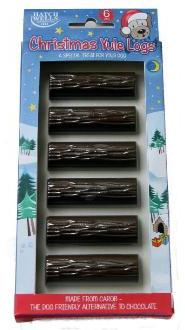 Christmas Yule Logs For Dogs From Pet Shopper