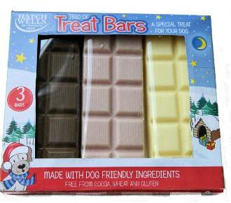 Hatchwell Tasty Trio Treats for Dogs (3 bars)