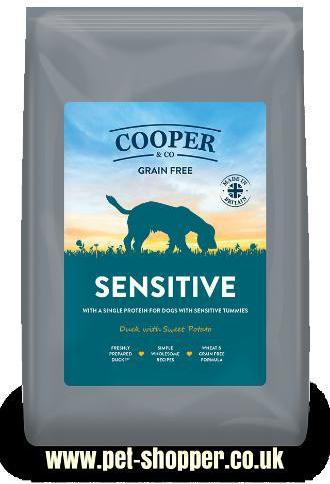 Cooper and Co Sensitive Duck with Sweet Potato Dog Food