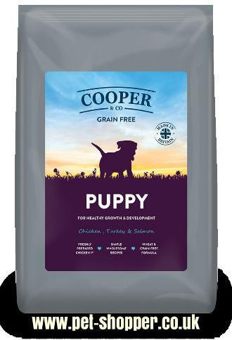 Cooper and Co Puppy Food Grain Free