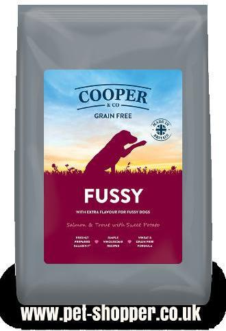 Cooper and Co Fussy Salmon and Trout with Sweet Potato Dog Food 10.8kg