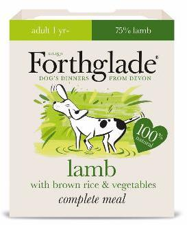 Forthglade Lifestage Lamb Dog Food 395g x 18