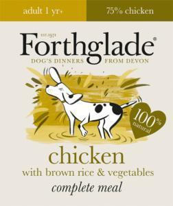 Forthglade Lifestage Adult Chicken Dog Food 395g x 18