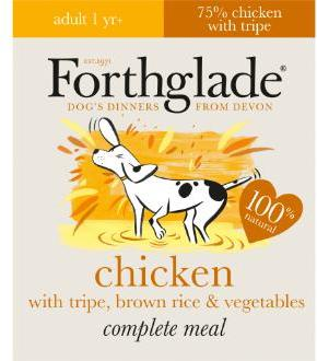 Forthglade LifeStage Chicken with Tripe & Brown Rice 395g