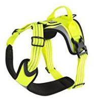Hurtta Dazzle Harness Yellow 80-100cm