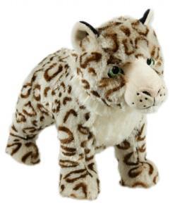 Animal Instincts Snow Mates Sophia Snow Leopard Small Dog Toy