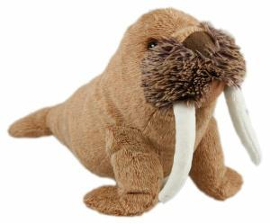 Animal Instincts Snow Mates Winston Walrus Small Dog Toy