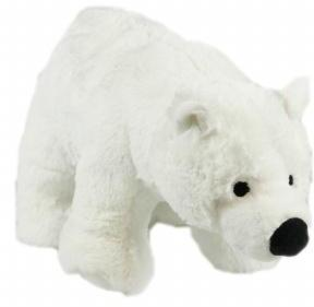 Animal Instincts Snow Mates Perdita Polar Bear Small Dog Toy