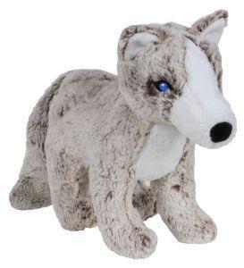Animal Instincts Snow Mates Annika Arctic Fox Small Dog Toy