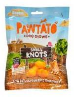 Pawtato Small Knots (Vegan) Dog Treats x 12