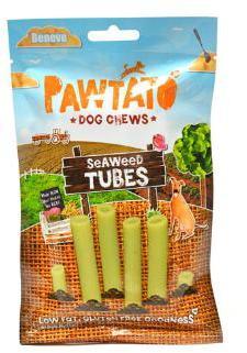 Pawtato Seaweed Tubes (Vegan) Dog treats x 12