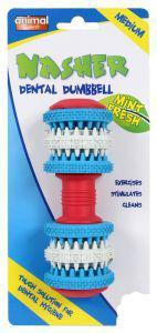 Animal Instincts Nasher Dental Dumbell Medium 14cm