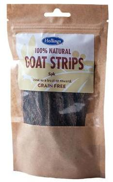 Hollings Goat Strips Dog Treats