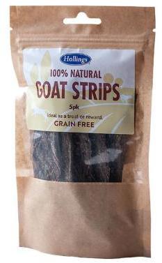 Hollings Goat Strips Dog Treats