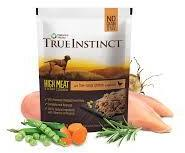 True Instinct High Meat Chicken Fillets Dog Food 8 x 300g packs