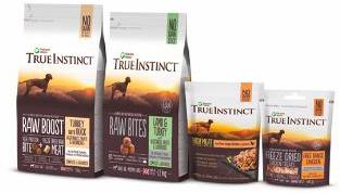 True Instinct High Meat Beef Fillet Dog Food 8 x 300g packs