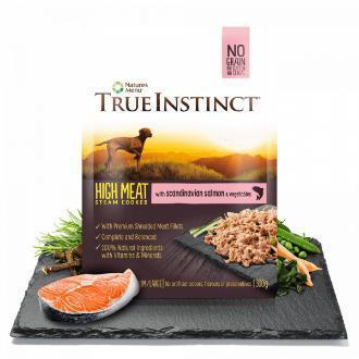 True Instinct High Meat Salmon Fillet Dog Food 8 x 300g packs