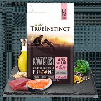True Instinct Raw Boost Salmon and Tuna Cat Food 1.5kg