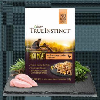 True Instinct High Meat Chicken Fillets Cat Food x 8 pouches