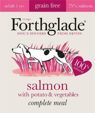 Forthglade Adult Salmon with Potato & Veg Grain Free 395g x 18