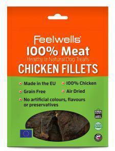 Feelwells 100% Meat Treats Chicken Fillets 100g x 10