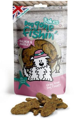 Dog Gone Fishin Salmon and Parley Dog Treats