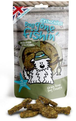 Dog Gone Fishin Red Fish with Fennel Crunchy Dog Treats
