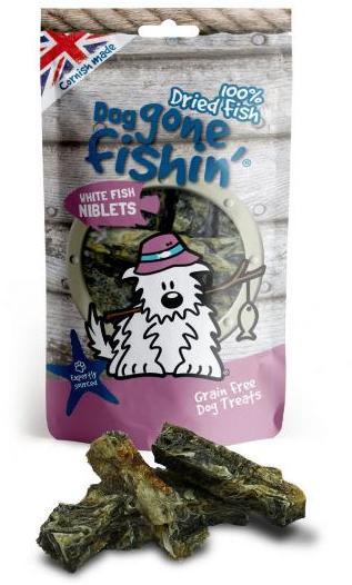 Dog Gone Fishin White Fish Niblets Dog Treats