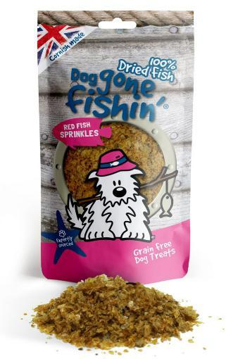 Dog Gone Fishin Red Fish Sprinkles Dog Treats