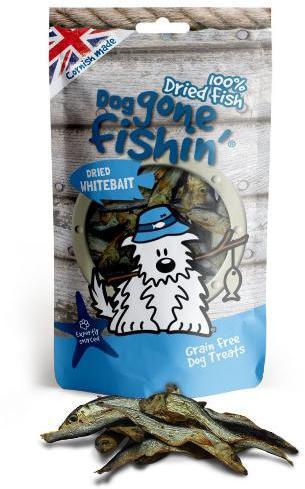 Dog Gone Fishin Dried Whitebait Dog Treats