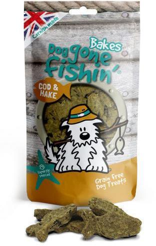 Dog Gone Fishin Cod and Hake Dog Treats