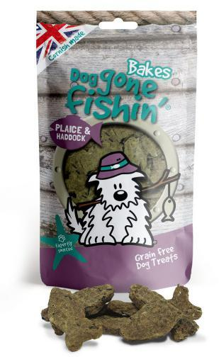 Dog Gone Fishin Plaice and Haddock Dog Treats
