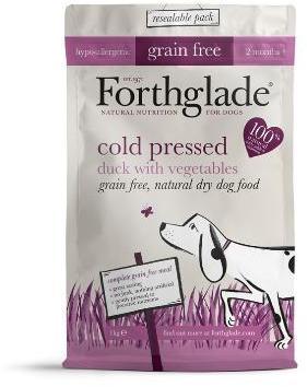 Forthglade Cold Pressed Grain Free Duck Dog Food 1kg