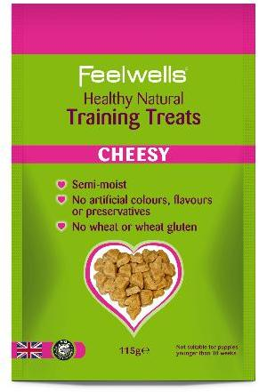 Feelwells Semi Moist Training Treats Cheesy 115g