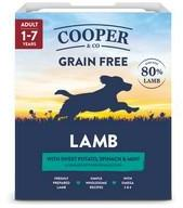 Cooper & Co Lamb 80% Meat Dog Food 10 x 400g Trays