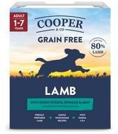 Cooper & Co Lamb 80% Meat Dog Food 10 x 400g Trays