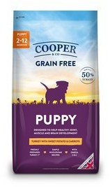Cooper & Co Puppy Turkey with sweet potato and carrots 1.5kg