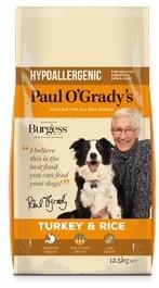 Paul O'Grady Dog Food Turkey & Rice 12.5kg
