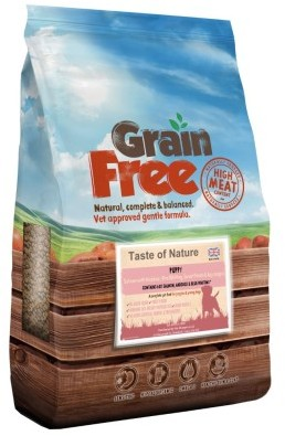Taste of Nature Puppy Salmon With Haddock & Blue Whiting 12kg