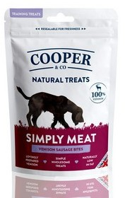 Cooper & Co Venison Sausage Bites - Training Treats