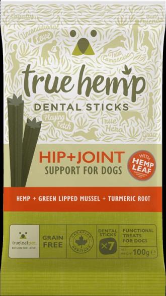 True Hemp Hip and Joint Dental Sticks for Dog's