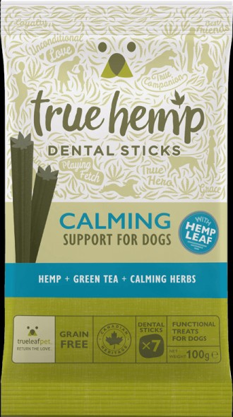 True Hemp Dental Calming Sticks for Dog's