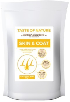 Taste of Nature Skin and Coat Treats for Dogs