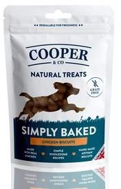Cooper & Co Grain Free Chicken Biscuits Dog Treats