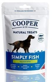 Cooper & Co Salmon Bites Dog Treats x 8