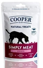 Cooper & Co Liver Bites Dog Treats x 8 Packs
