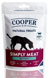 Cooper & Co Beef Fillets Dog Treats x 8 packs